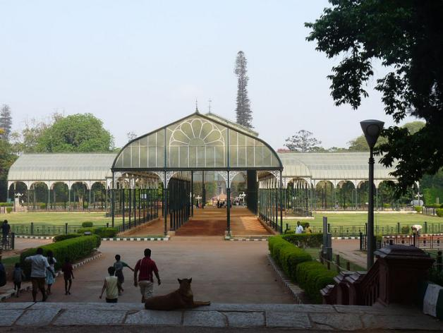 The Lal Bagh Glass House, a city landmark that has few parallels
