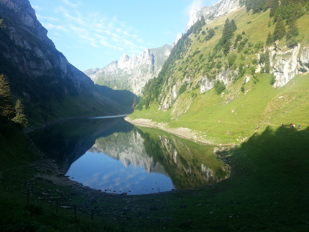 Faehlensee in Appenzell, Switzerland
