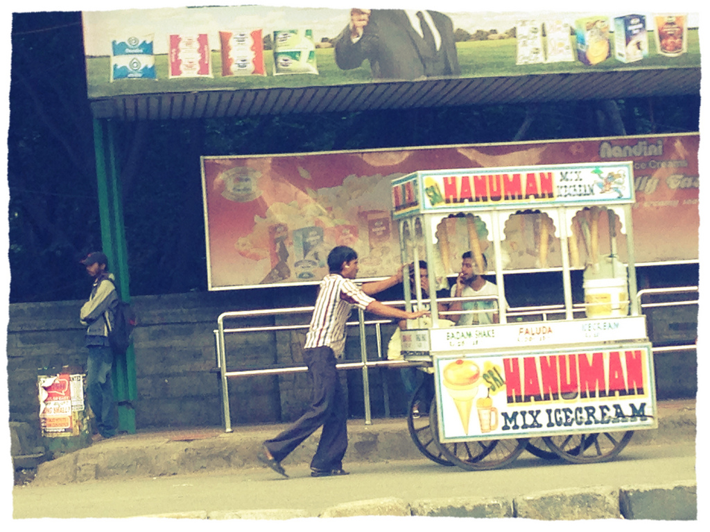 Care for some Lanka-burning, mountain-uprooting Hanuman Mix Ice Cream?