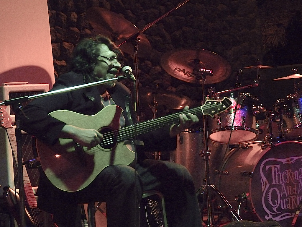 Guitarist Konarak Reddy, one of the veterans of Bangalore's Music Strip days, performs in Bangalore