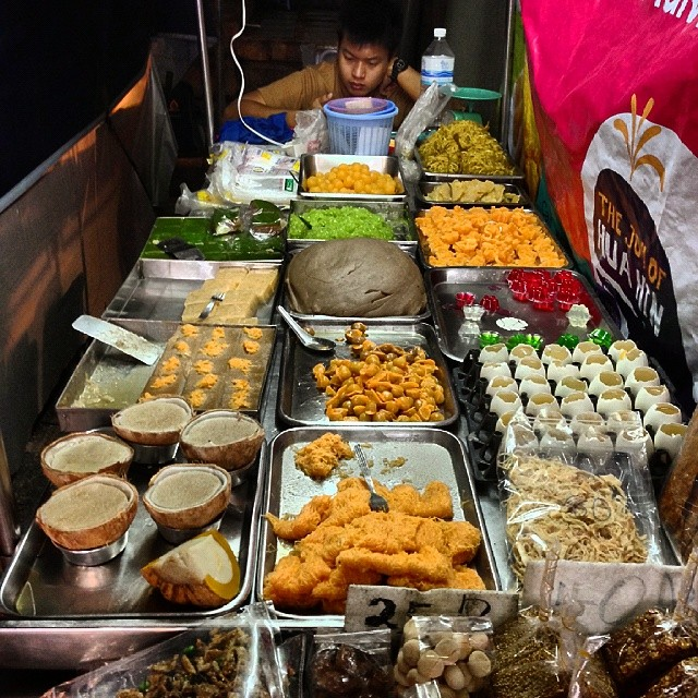 Treats for my sweet. At Huo Hin Night Market, #Thailand #food #foodporn #streetfood