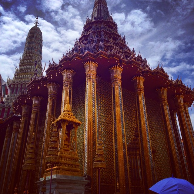 The temple of the Emerald Buddha, #Bangkok, #Thailand #travelpics #buddhism