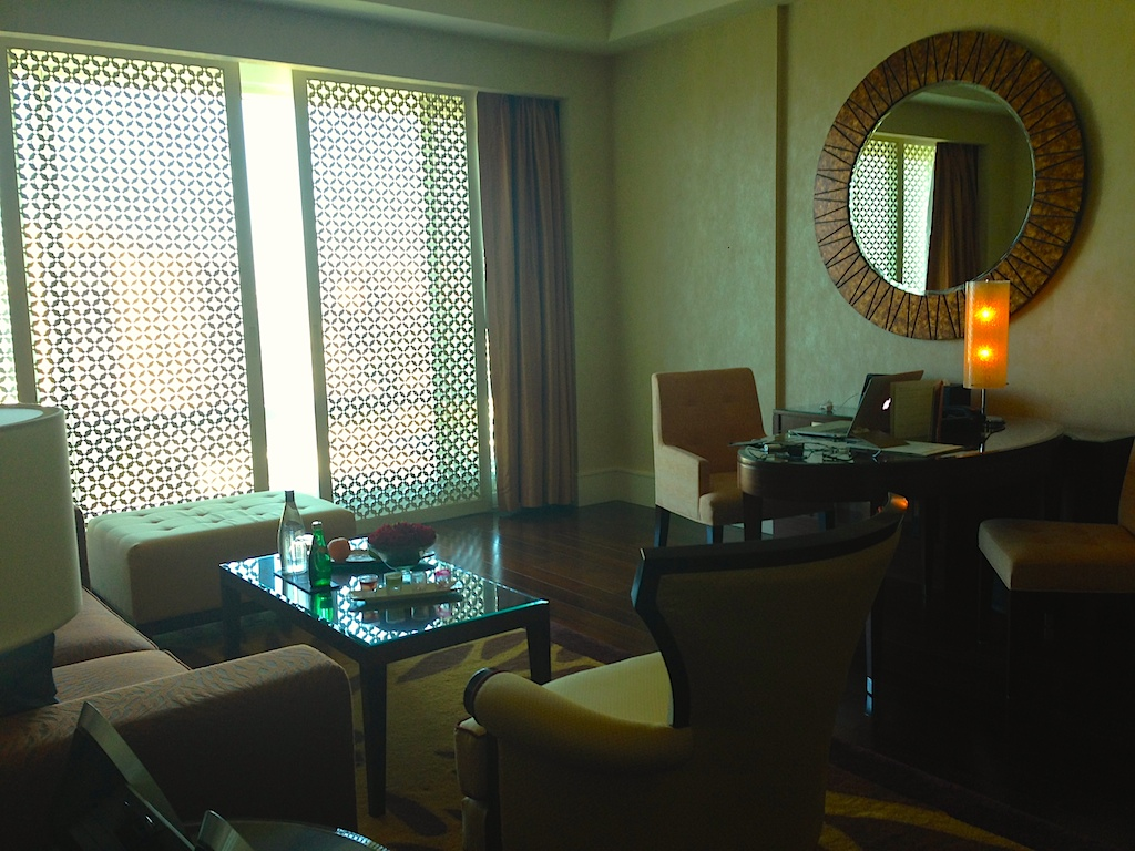 Drawing room of the Ritz-Carlton Suite