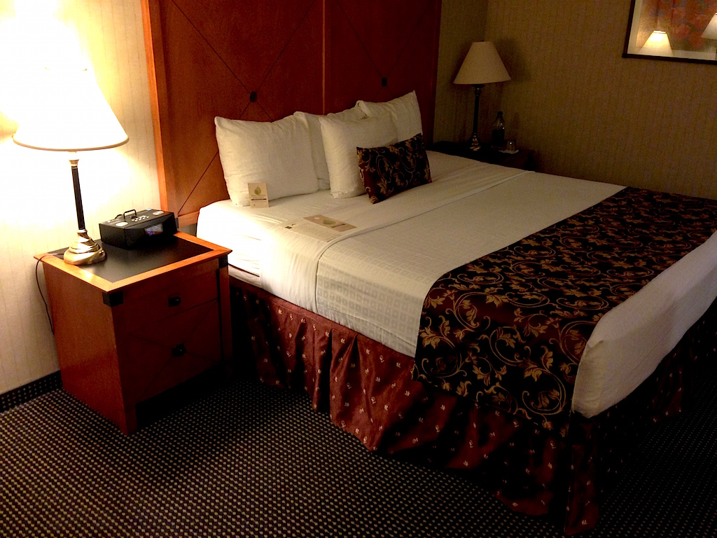 My room at the Lord Elgin Hotel