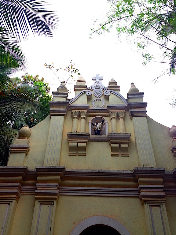 The Chapel of Francis Xavier stands in the area behind the now extinct College of St Paul. The chapel is opened once a month.