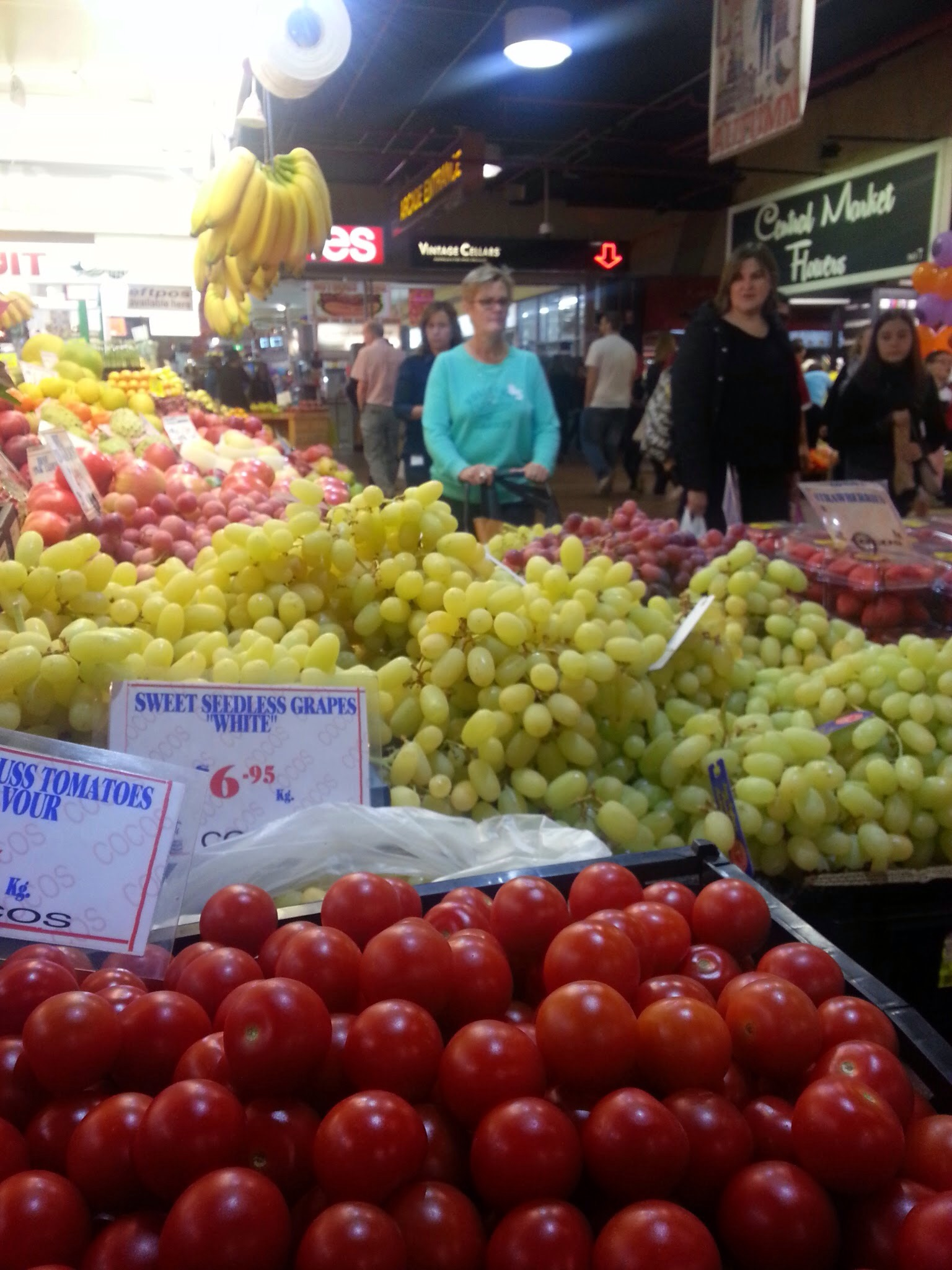 Tantalising the pomologist in every frugivore, a world of  fruit at Central Market, Adelaide