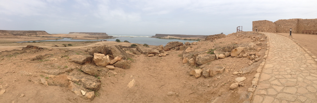 The ruins of Khor Rori, Sumhuram in Salalah Governorate, Oman