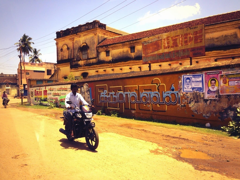 The dusty streets of Chettinad speak of a fast-fading glory